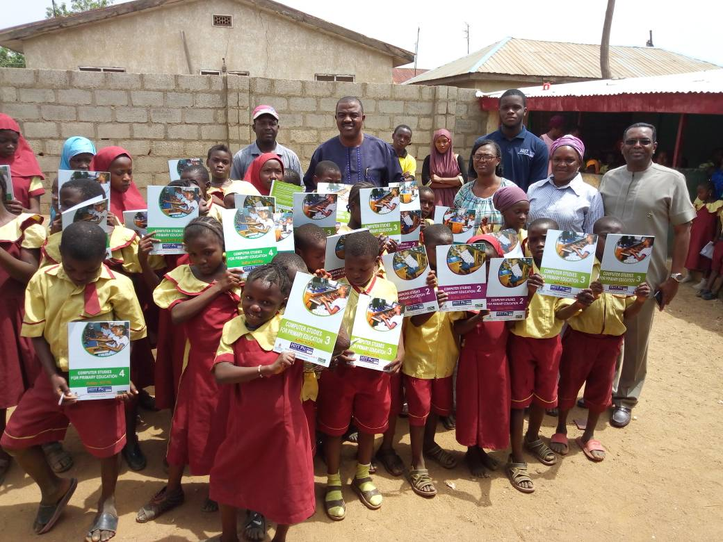HiiT PLC donates Computer Textbooks to Orphanage Home School in Nyanya, Nassarawa State on 20th February, 2018.